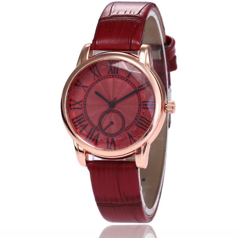 Shops New Fashion Lady Candy Color Simple Rome Dial Casual Student Quartz Watch