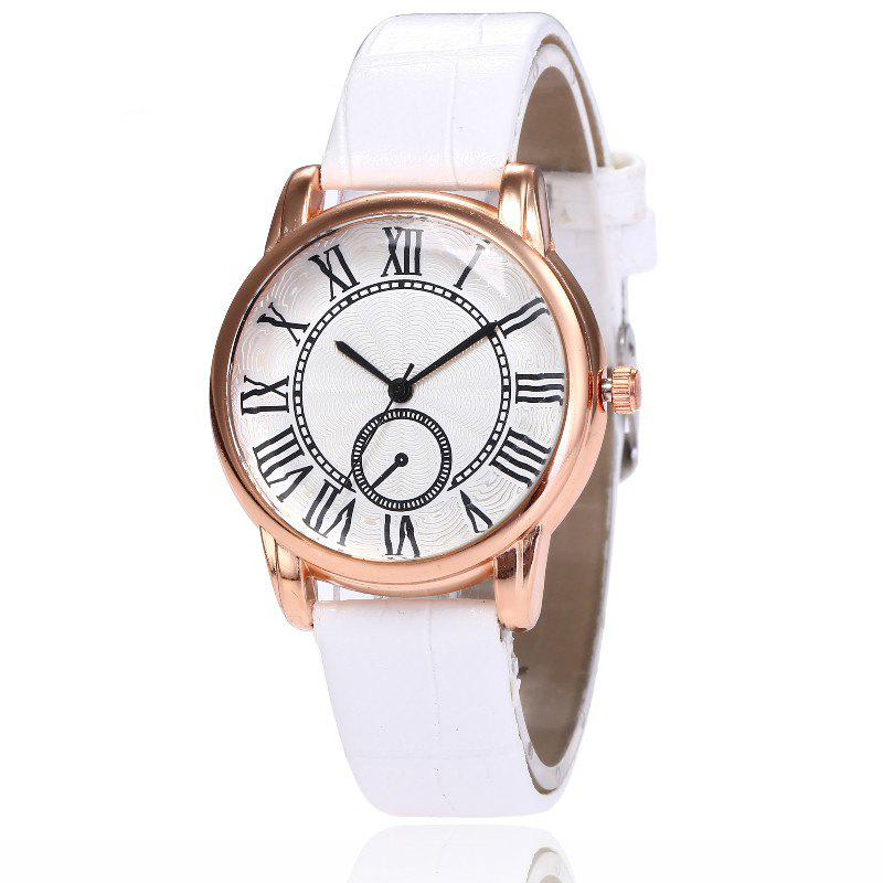 Shop New Fashion Lady Candy Color Simple Rome Dial Casual Student Quartz Watch