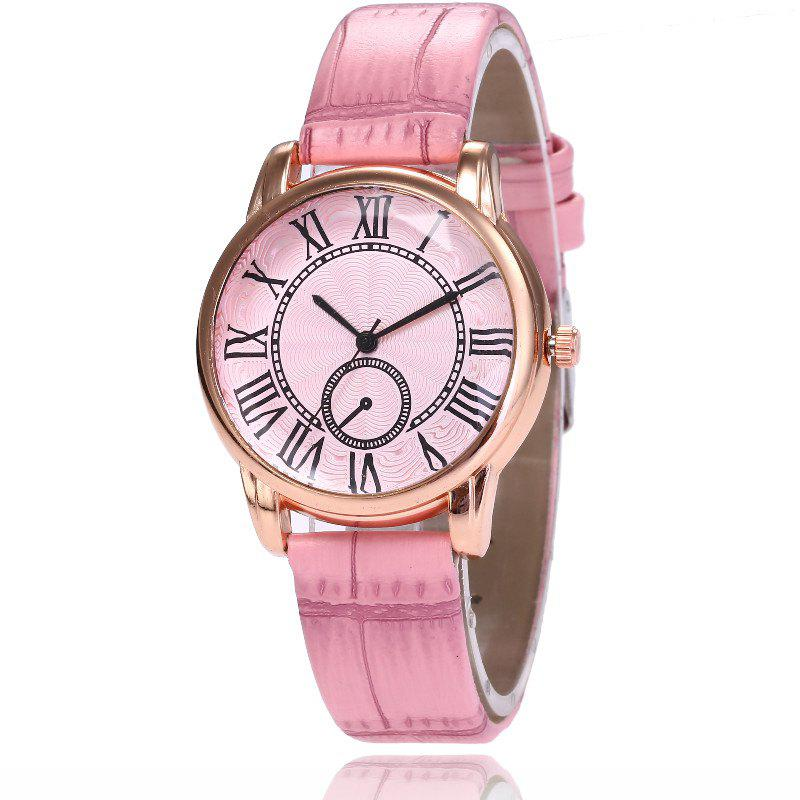 New New Fashion Lady Candy Color Simple Rome Dial Casual Student Quartz Watch