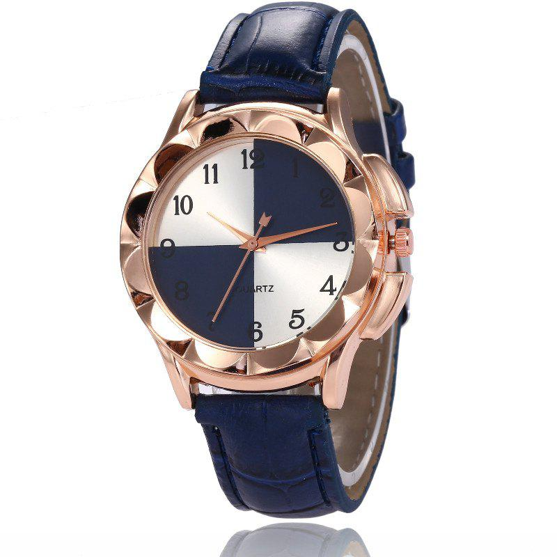Trendy New Fashion Lady Candy Color Simple Color Dial Casual Quartz Watch