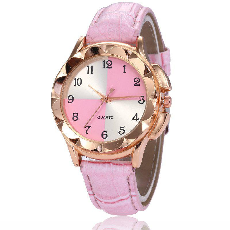 Store New Fashion Lady Candy Color Simple Color Dial Casual Quartz Watch