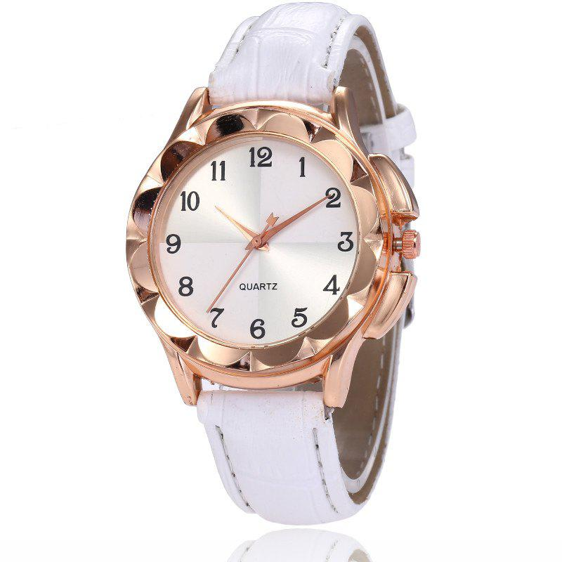 Hot New Fashion Lady Candy Color Simple Color Dial Casual Quartz Watch
