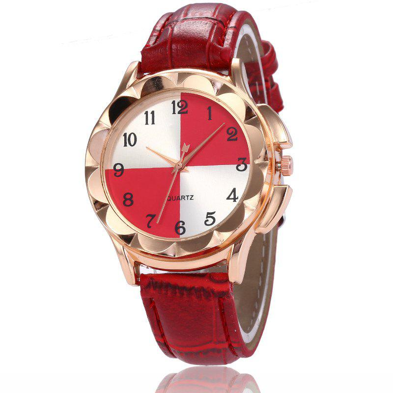 Fashion New Fashion Lady Candy Color Simple Color Dial Casual Quartz Watch