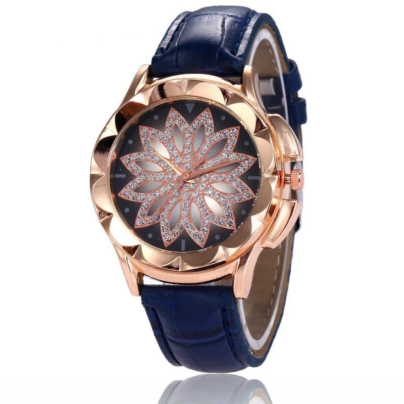 Outfit New Fashion Lady Candy Color Simple Flowers Dial Casual Quartz Watch