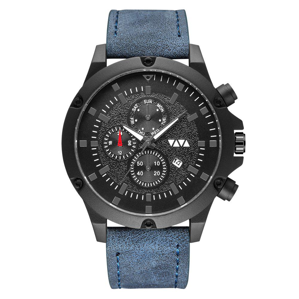 Outfit VAVA Top Brand Luxury Fashion Men's Casual Sports Quzrtz Watch