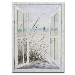 Modern Living Room Abstract Still Life Window Sill Landscape Decoration Painting -