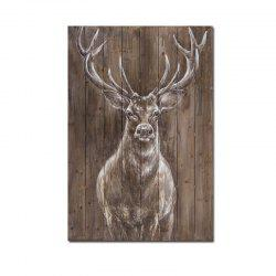 Modern Living Room Hotel Porch Background Wall Animal Decoration Painting Deer -