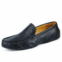 Chaussures paresseuses en cuir One Foot Chaussures Casual -