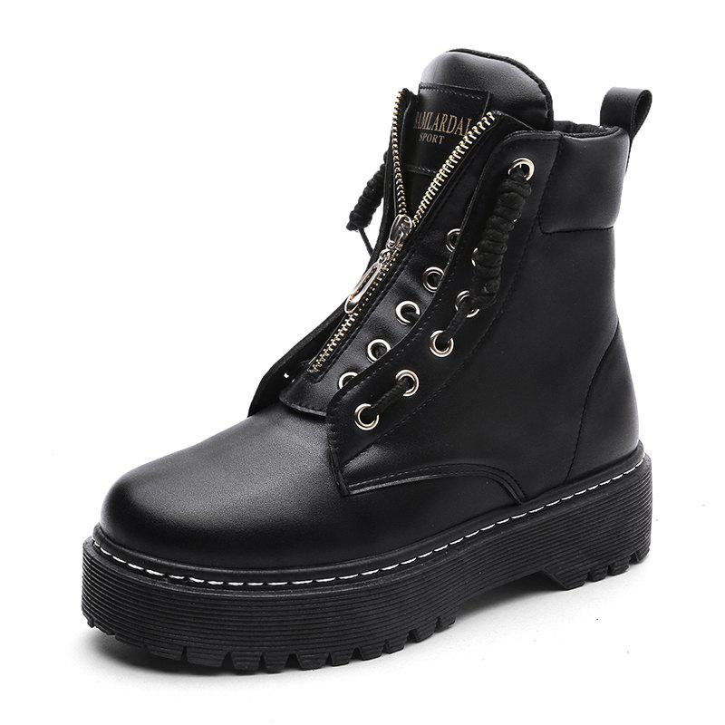 New Winter Fashion Tide Comfortable Thick High Shoes Martin Boots
