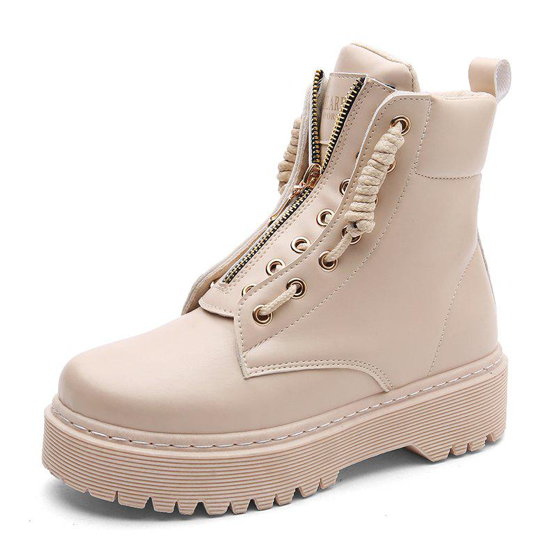 Discount Winter Fashion Tide Comfortable Thick High Shoes Martin Boots