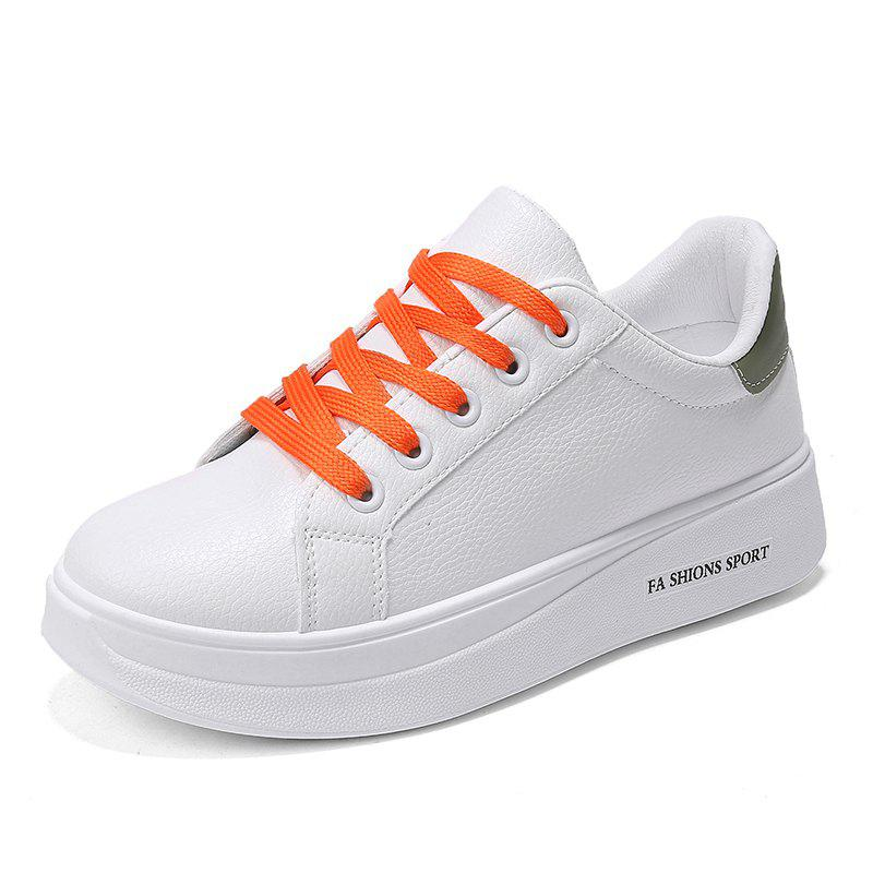 Affordable Student Autumn and Winter Small White Platform Sports Shoes