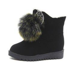 Cartoon Bottomed Warm Snow Boots -