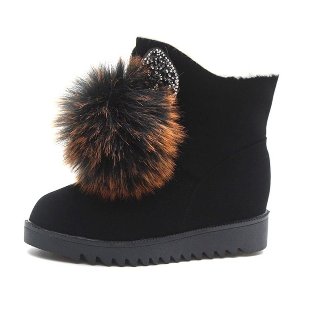 Trendy Cartoon Bottomed Warm Snow Boots