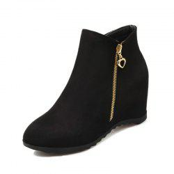 Women'S Boots Increased in Round Head -