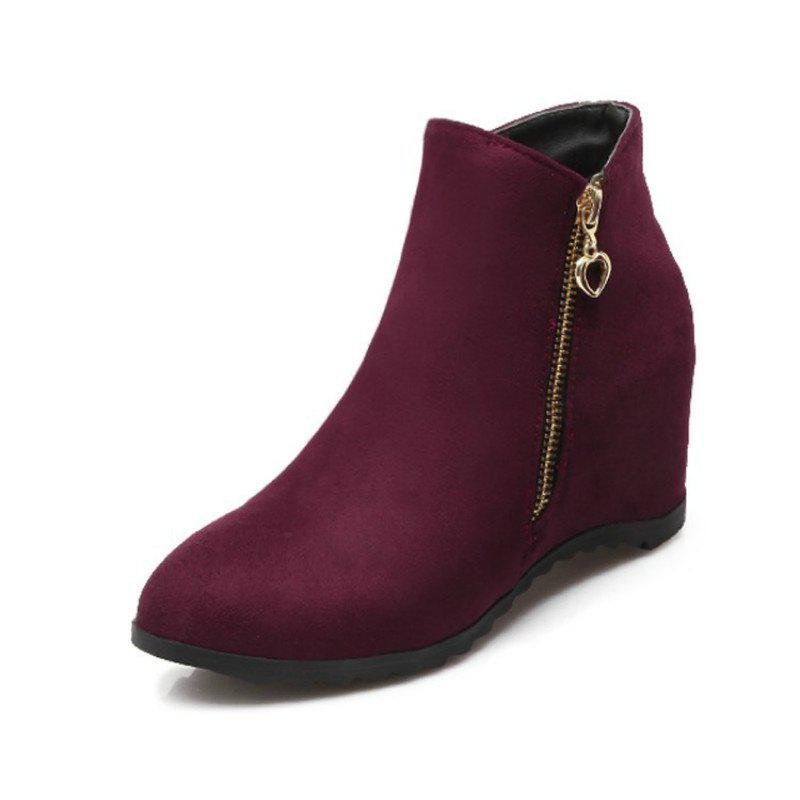 Affordable Women'S Boots Increased in Round Head