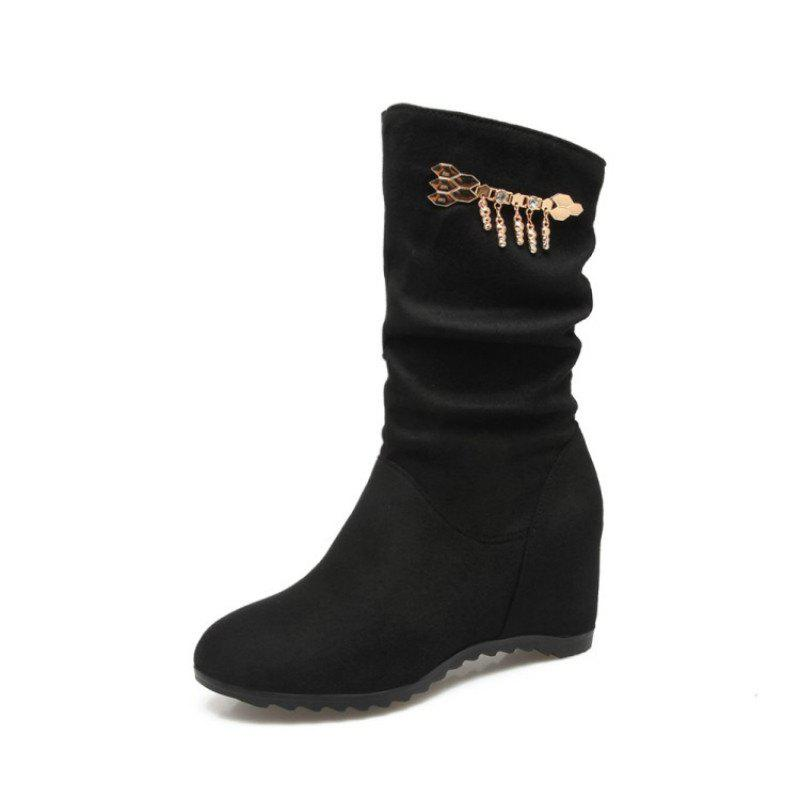 Best Fashionable Women'S Boots in Round Head