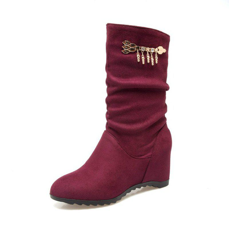 Discount Fashionable Women'S Boots in Round Head