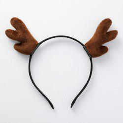 Antler Hair Hoop Headband Christmas Costume  Party Decoration -
