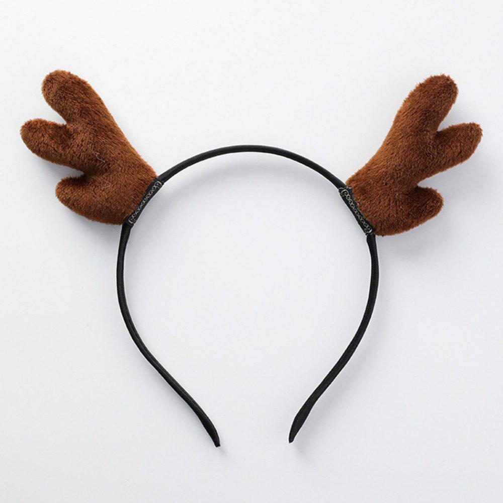 Online Antler Hair Hoop Headband Christmas Costume  Party Decoration