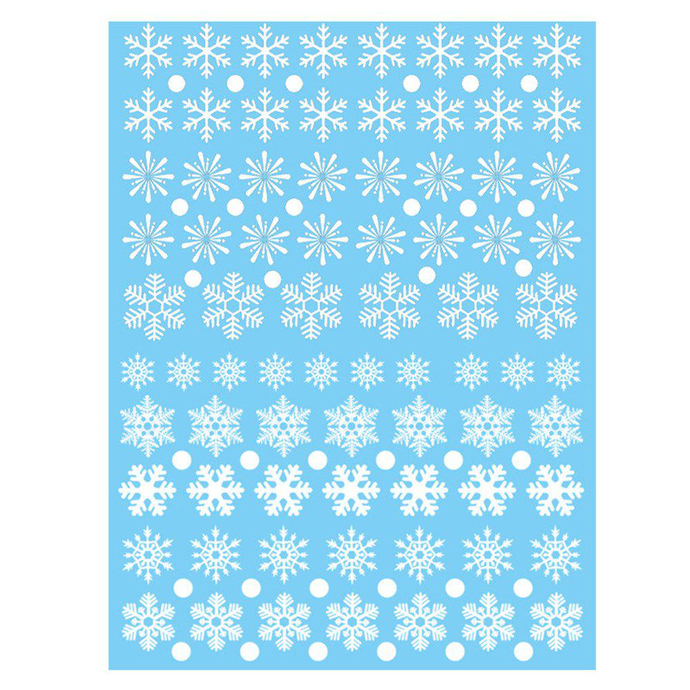 Hot Christmas Snowflake Window Clings Decorations