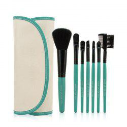 7PC Makeup Brushes Premium Cosmetic With luxury Bag -