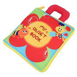 Baby Puzzle Cloth Book Multifunctional Educational Toy Recognize Numbers -