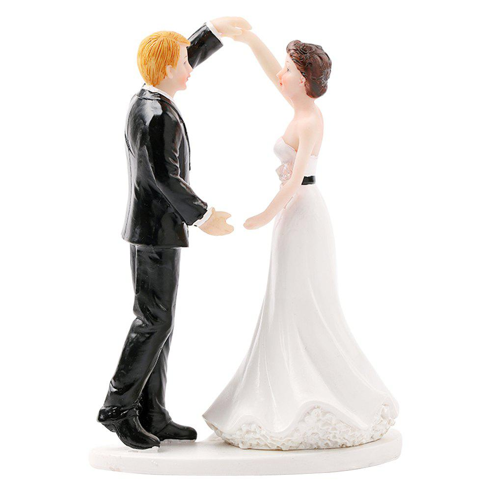 Unique Rise and Dance in A Happy Mood Cake Topper Ornaments Decoration