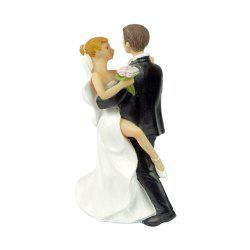 Foot The Bride The Groom Cake Topper Ornaments Decoration -