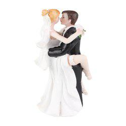 Foot The Bride The Groom Cake Topper Ornements Décoration -