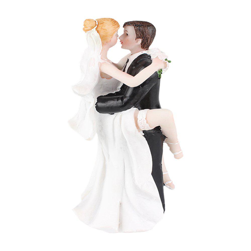Foot The Bride The Groom Cake Topper Ornements Décoration