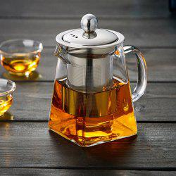 Borosilicate Glass Water Bottle Large Capacity Filtration Teapot -