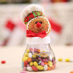 Christmas Decorations Gingerbread Man Candy Jar Candy Box Gift Box Children Fest -