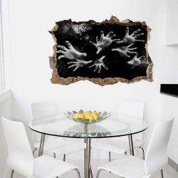 3D Wall Sticker Creative Halloween Abyss -
