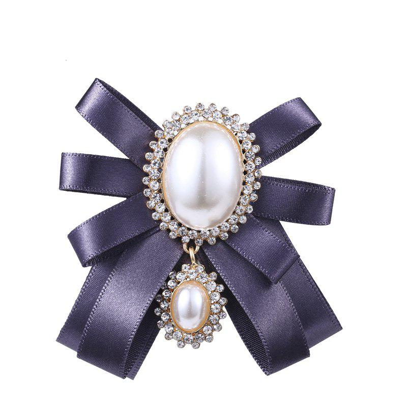Hot Women's Retro Brooch Exaggeration Personality Bowknow Brooch Accessory