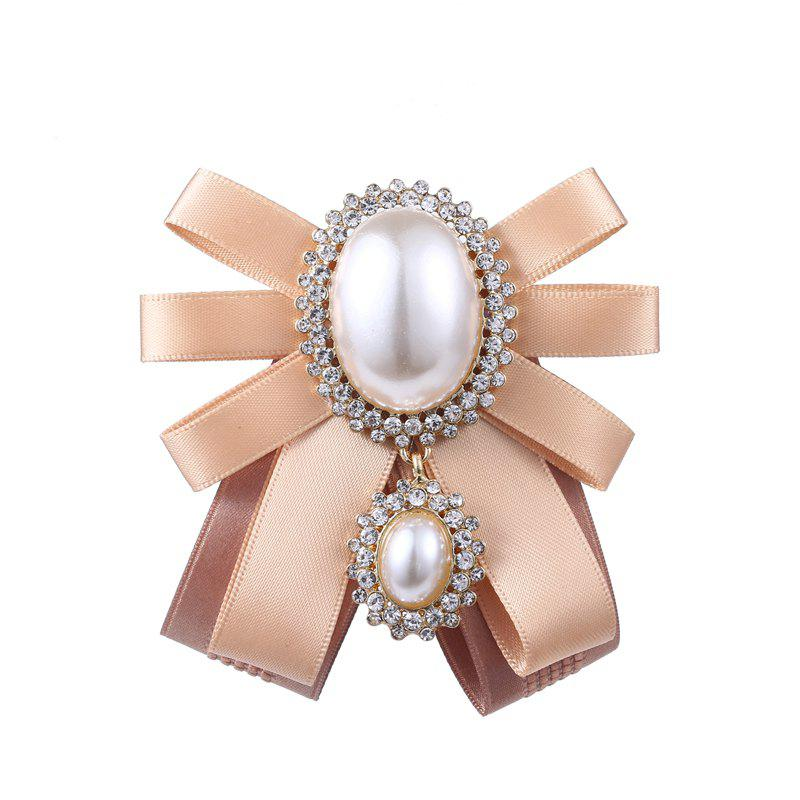 Trendy Women's Retro Brooch Exaggeration Personality Bowknow Brooch Accessory