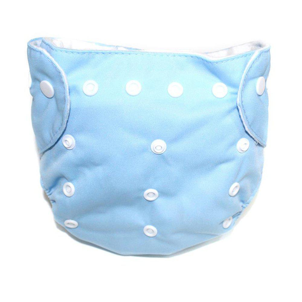 Buy Waterproof Breathable Button Type Washable Baby's Diaper Pants
