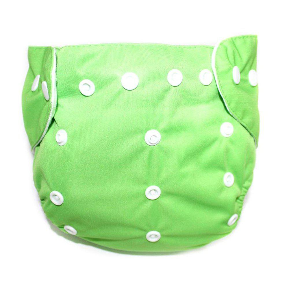 Hot Waterproof Breathable Button Type Washable Baby's Diaper Pants