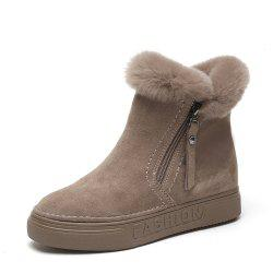 Women in Autumn and Winter Plus Cotton Boots -