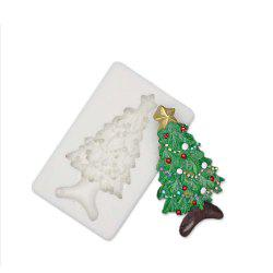 Christmas Tree Silicone Fondant Mold Cake Decorating Tools for Chocolate Gumpas -