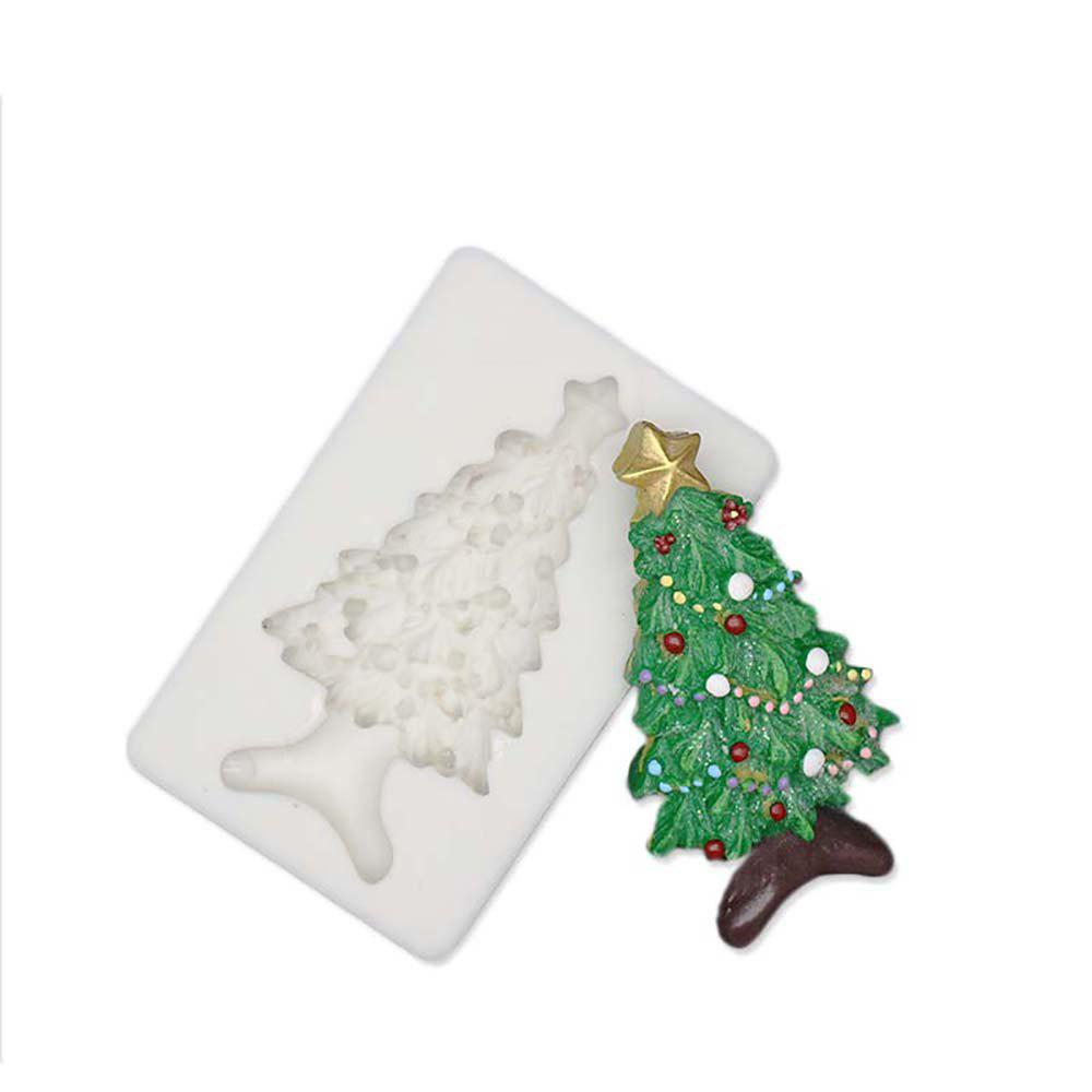 Outfit Christmas Tree Silicone Fondant Mold Cake Decorating Tools for Chocolate Gumpas