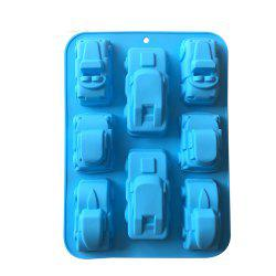 Cars Shape Silicone Mold Chocolate Candy Cake Decorating Tools -