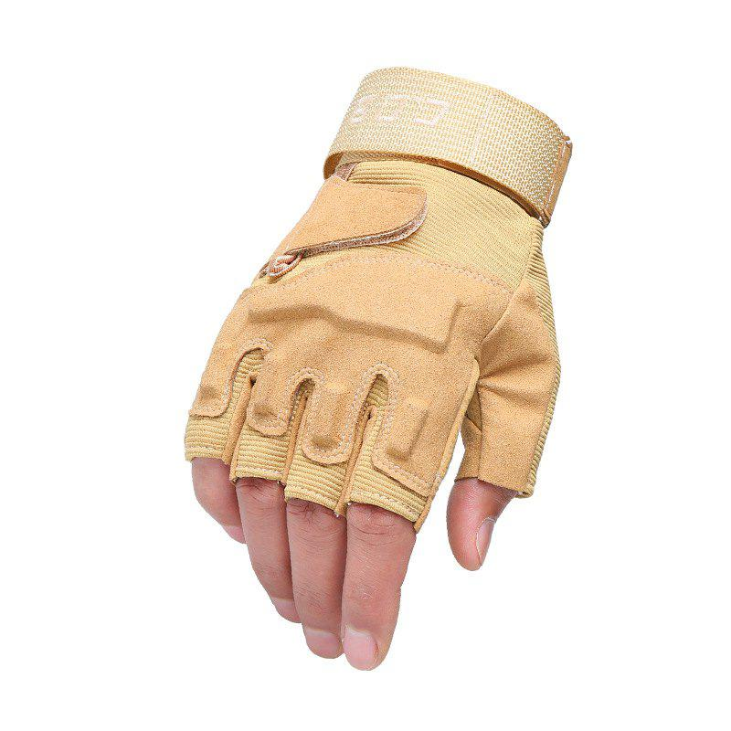 Trendy Men's Tactical Climbing Non-Ssip Breathable Wear Outdoor Gloves