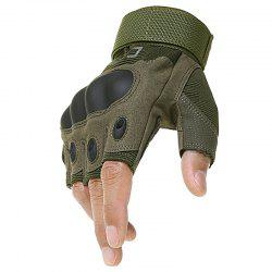 Men's Tactical Outdoor Mountaineering Combat Fighting Cut-resistant Gloves -