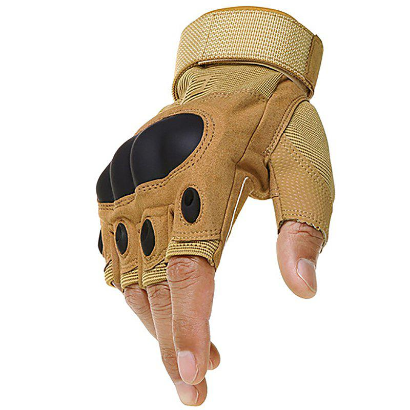 Affordable Men's Tactical Outdoor Mountaineering Combat Fighting Cut-resistant Gloves