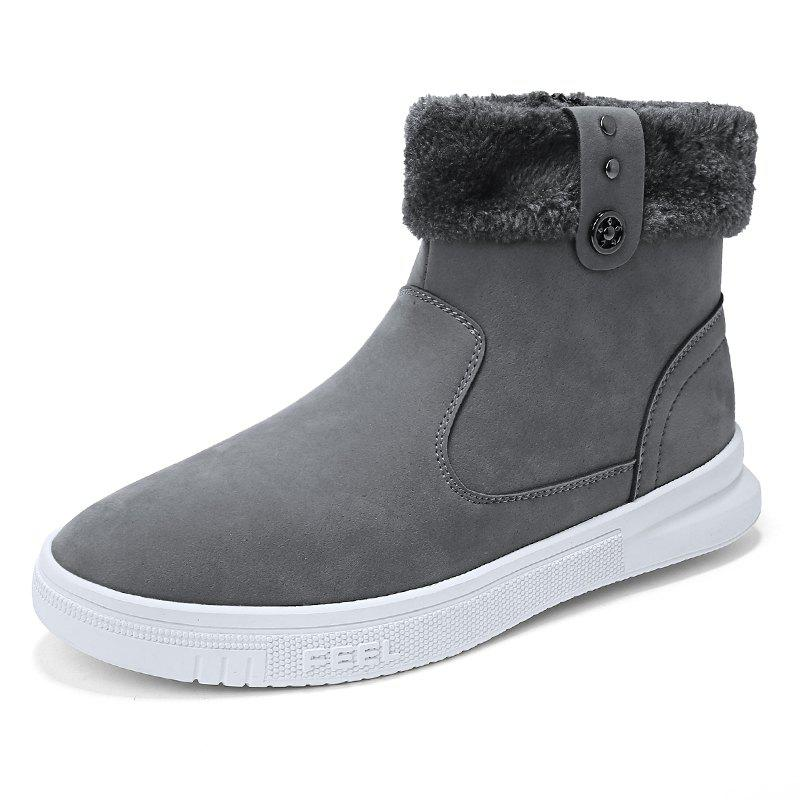 Outfits Men'S Winter Plus Cotton Warm Outdoor Snow Boots