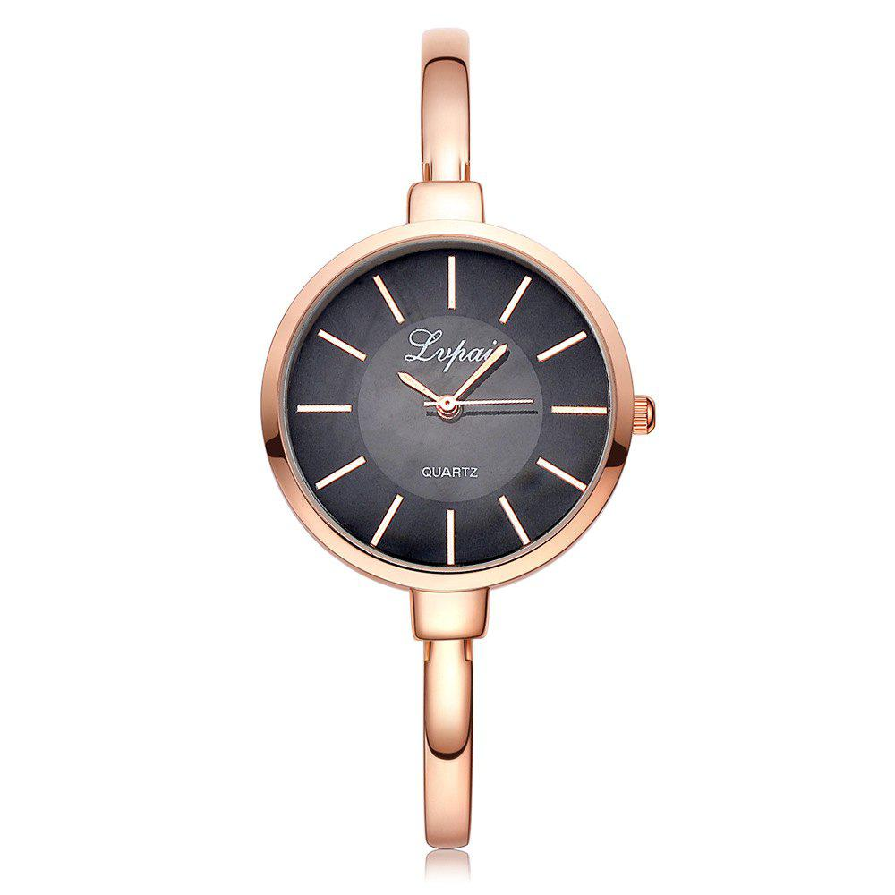 Trendy Ladies Fashion Exquisite Calibration Contracted Quartz Watch