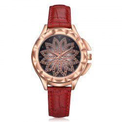 Female Fashion Geometric Patterns Quartz Watch -