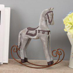 Horse Craft Sitting Room Office Decoration The Old Wooden Craft -