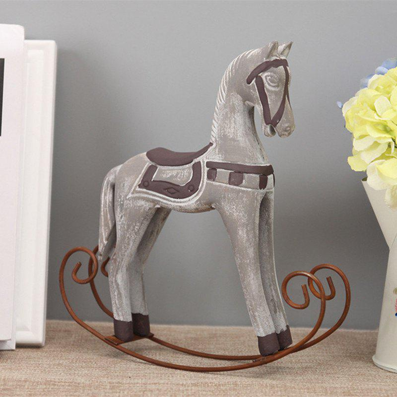 Best Horse Craft Sitting Room Office Decoration The Old Wooden Craft
