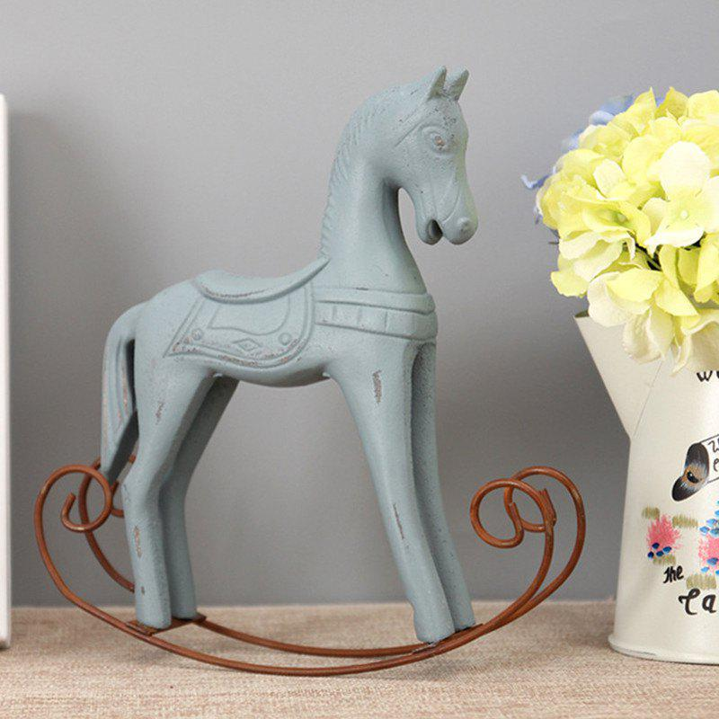 Shop Horse Craft Sitting Room Office Decoration The Old Wooden Craft